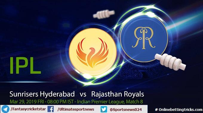 Hyderabad vs Rajasthan