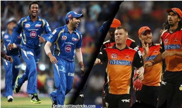 MI VS SRH Betting