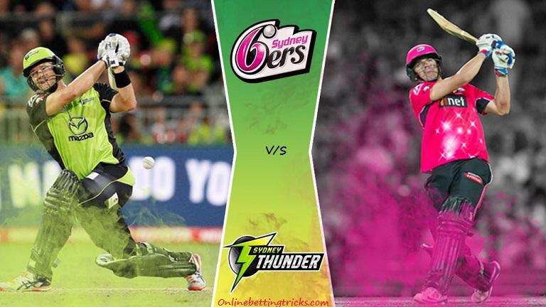 Sydney Thunder vs Sydney