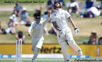 India vs New zealand 2nd test