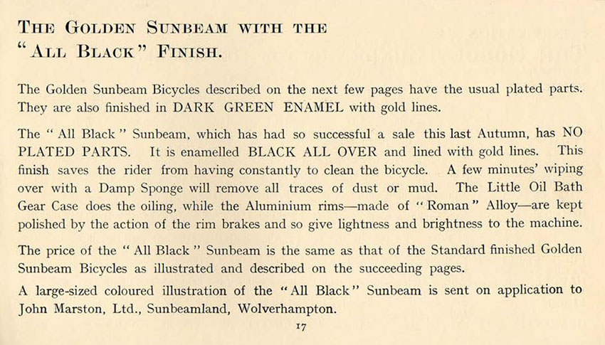 1912 Royal Sunbeam GREEN 01