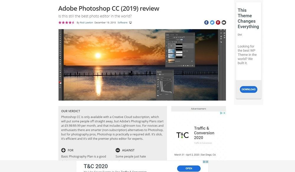 adobe photshop review