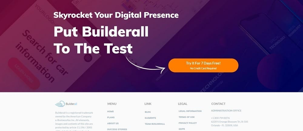 builderall 7days free trial_