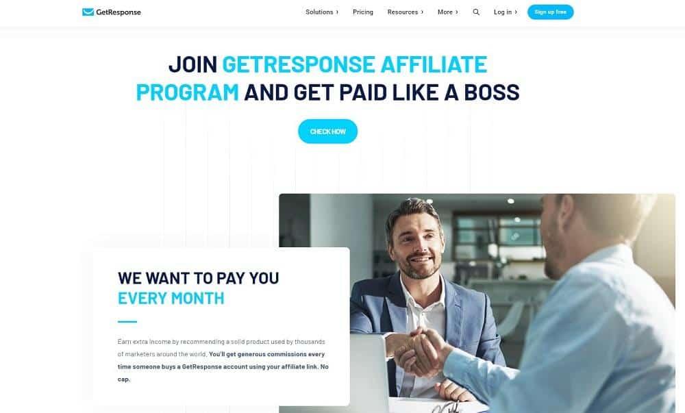 getresponse affiliate program