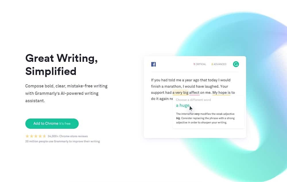 best tools for digital marketing - grammarly