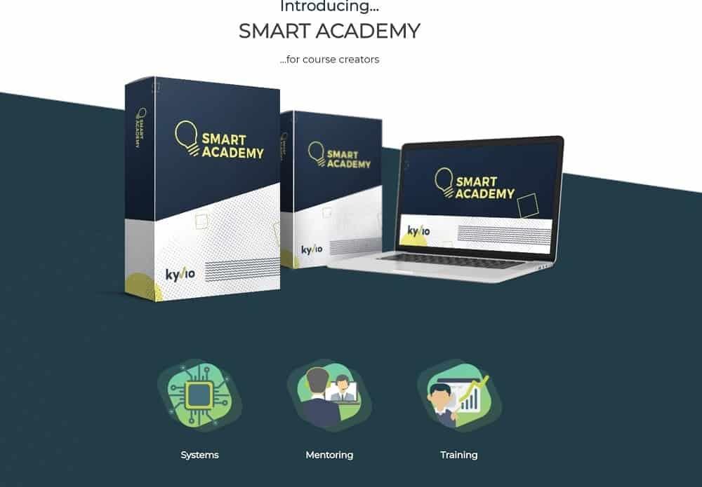kyvio smart academy para creadores de cursos