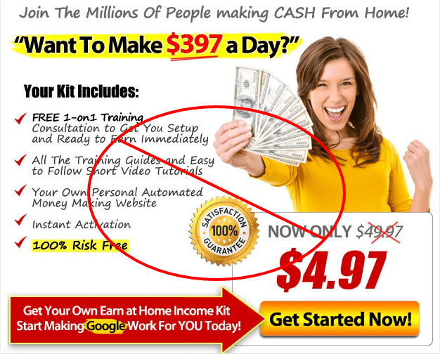 income claim scam_earning promise scam