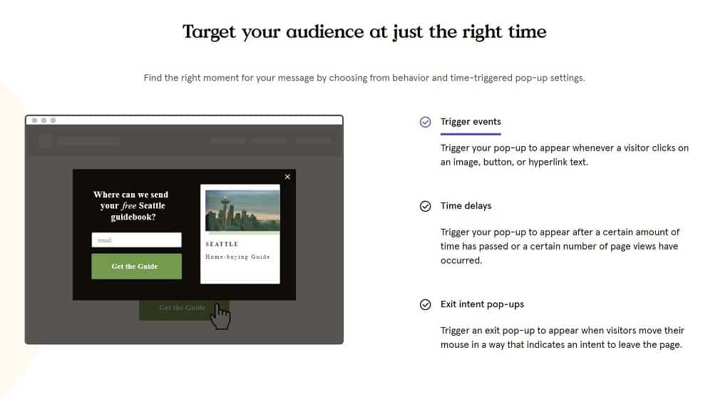 Leadpages popups
