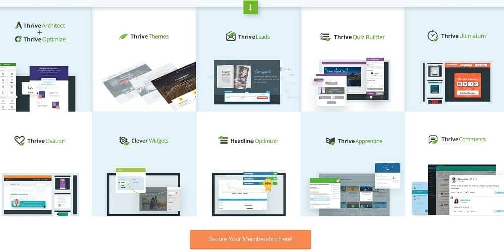 thrivethemes products