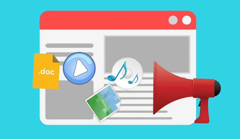 framework per la creazione di contenuti per il primo post del blog