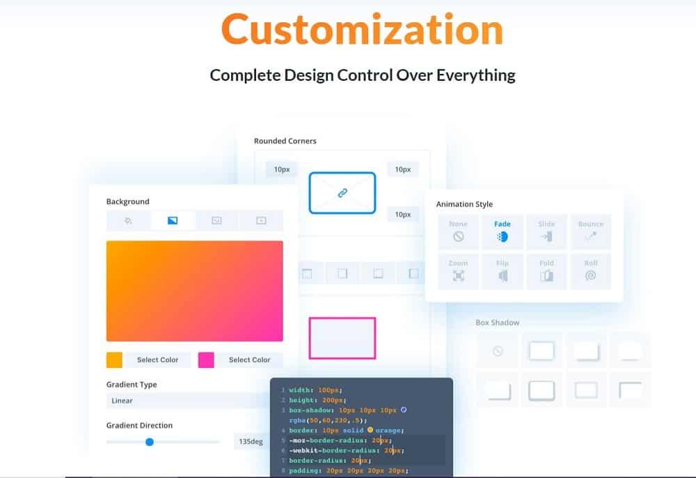 divi customization process