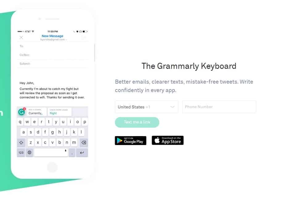 The Grammarly Keyboard