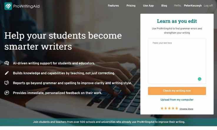 ProWritingAid for students_education