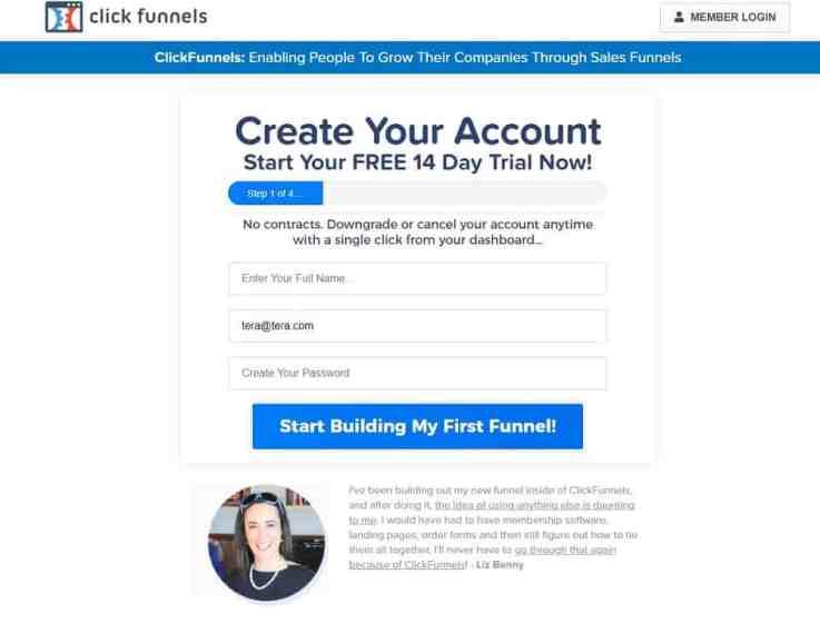 ClickFunnels free trial_