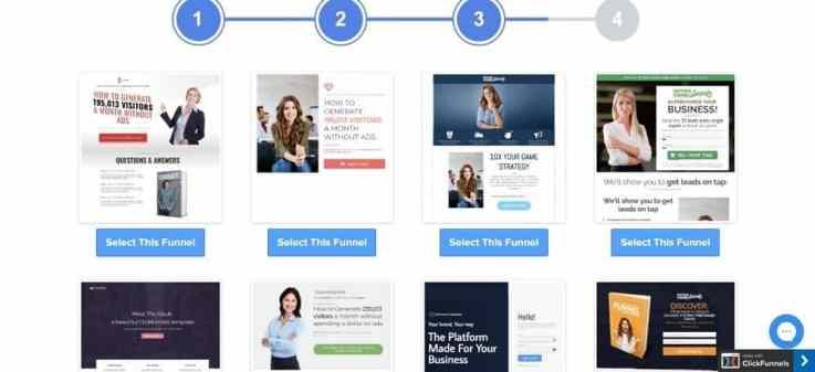ClickFunnels templates