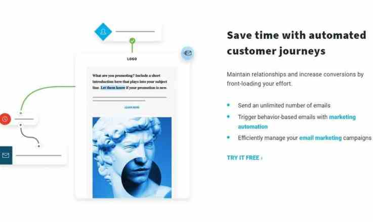Automated marketing features