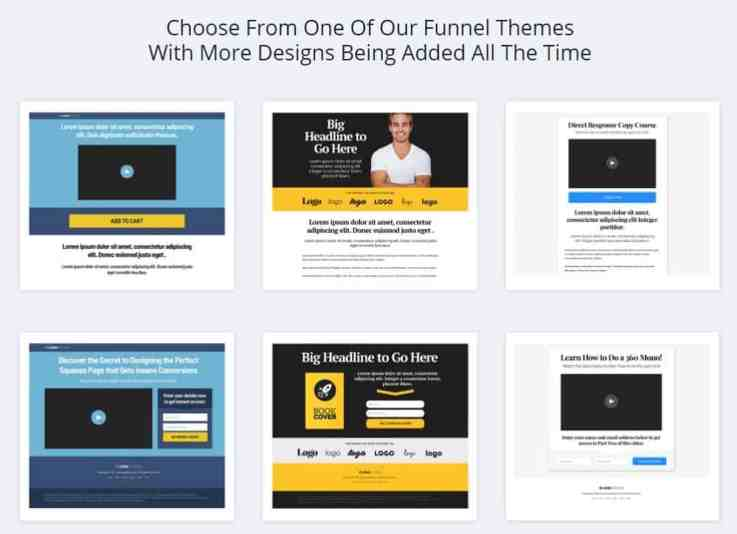 ClickBank funnel themes