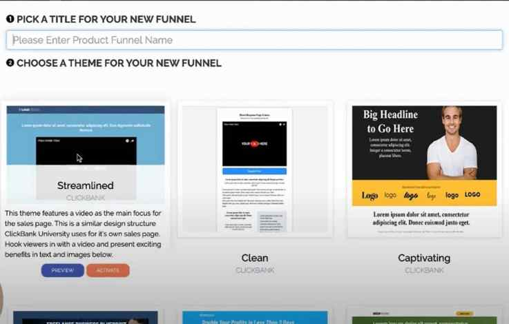 ClickBank unlimited products and membership sites