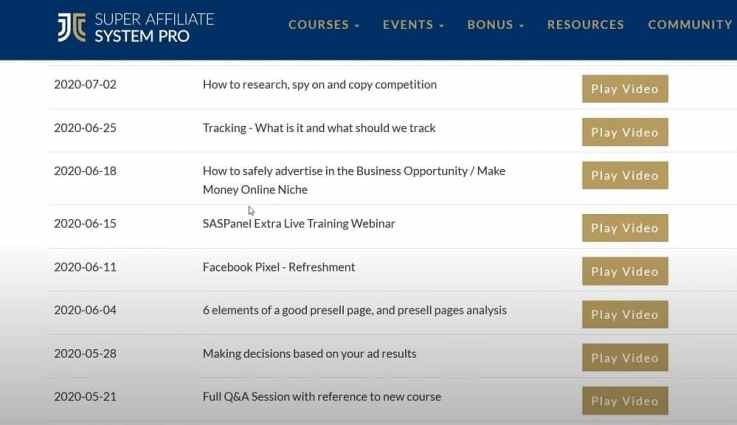 SAS Pro weekly group coaching session