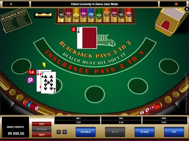 Vegas Downtown Blackjack - Online Blackjack For Real Money
