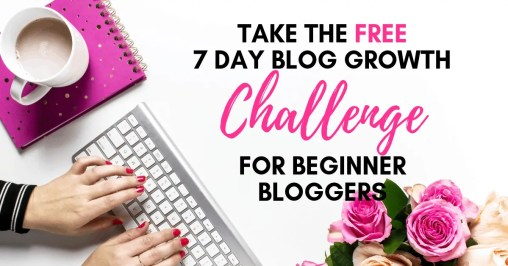 Take the Free 7 Day Beginner Blogger Challenge