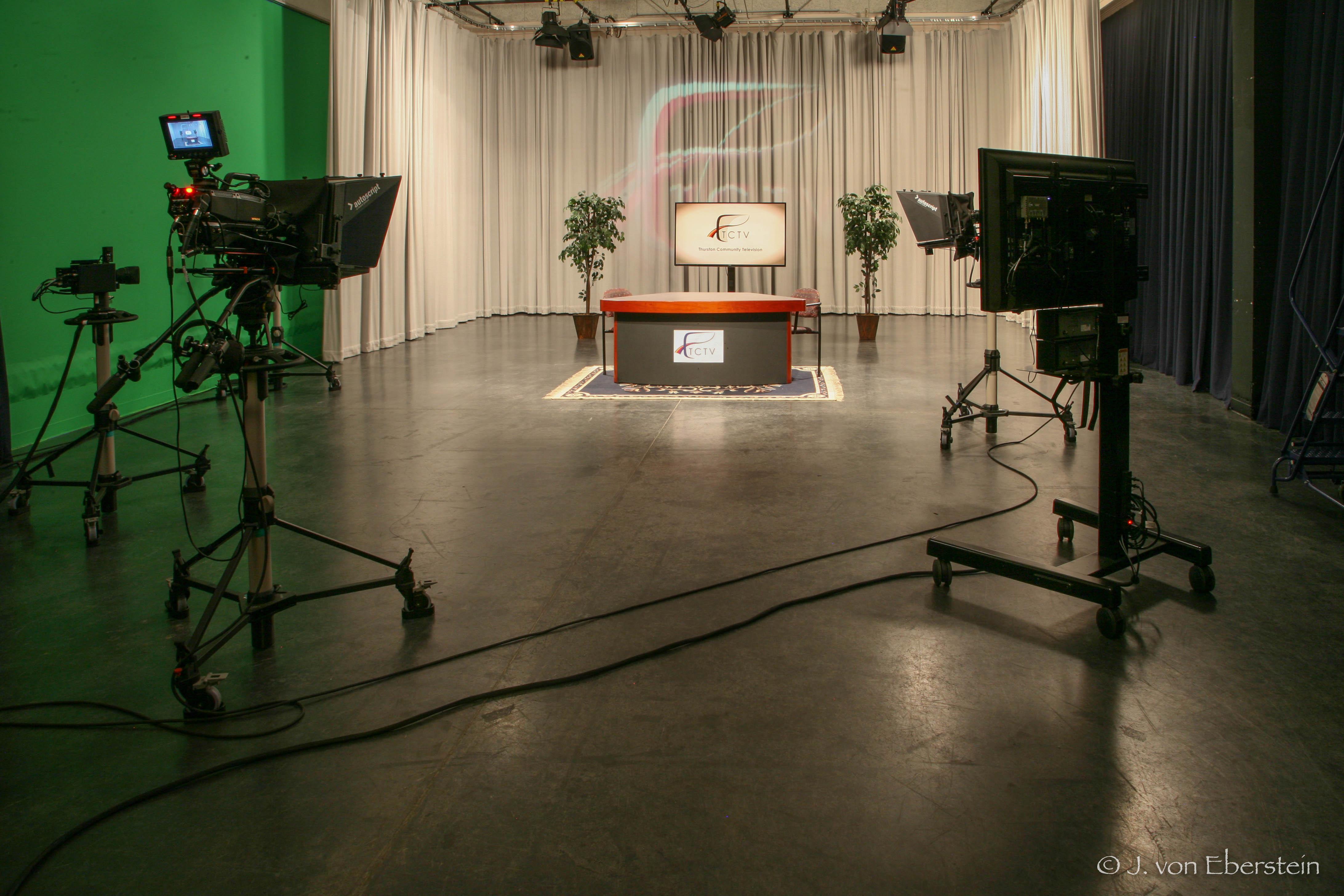 TCTV Main Studio, Olympia, WA
