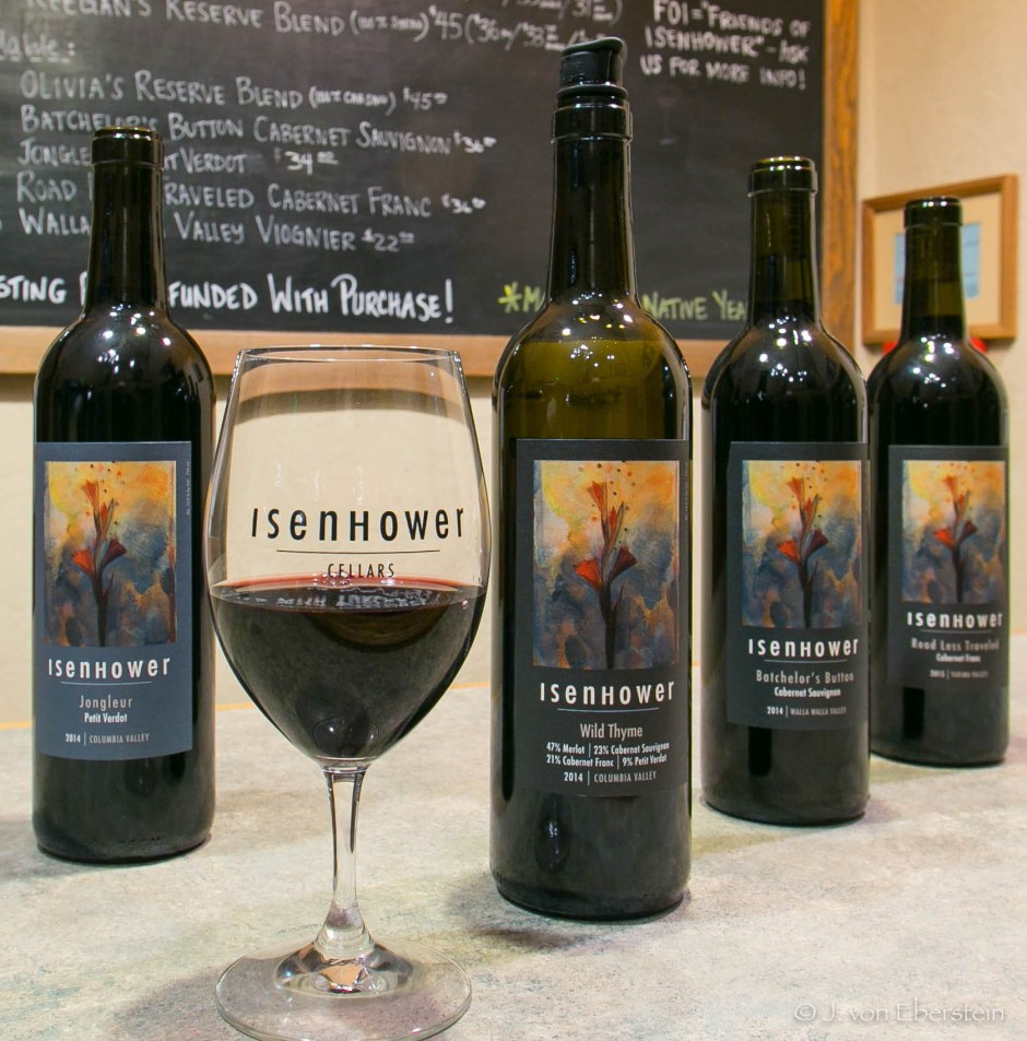 Isenhower Cellars, Walla Walla, WA