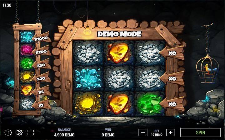 Gem MIner, Online Casino Bonus