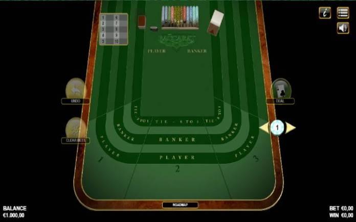 American Baccarat, online casino bonus