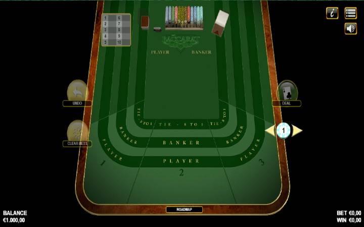 American Baccarat, Bonus Casino