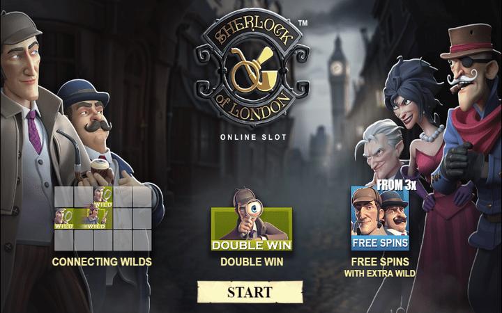 Sherlock of London, online free spins, online casino bonus