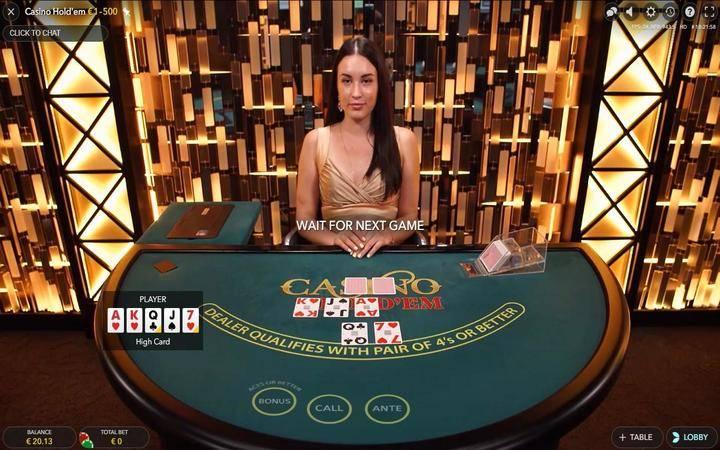 Casino Hold'em, texas hold'em, online casino bonus