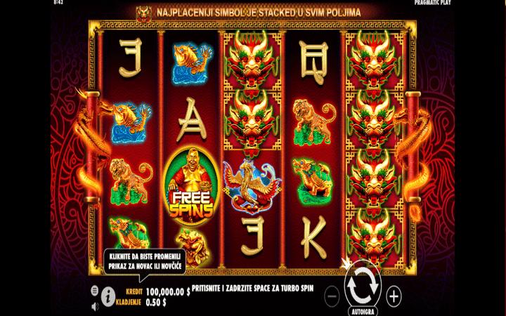Lucky Dragons, online free spins, džoker, bonus, Online Casino Bonus, Pragmatic Play
