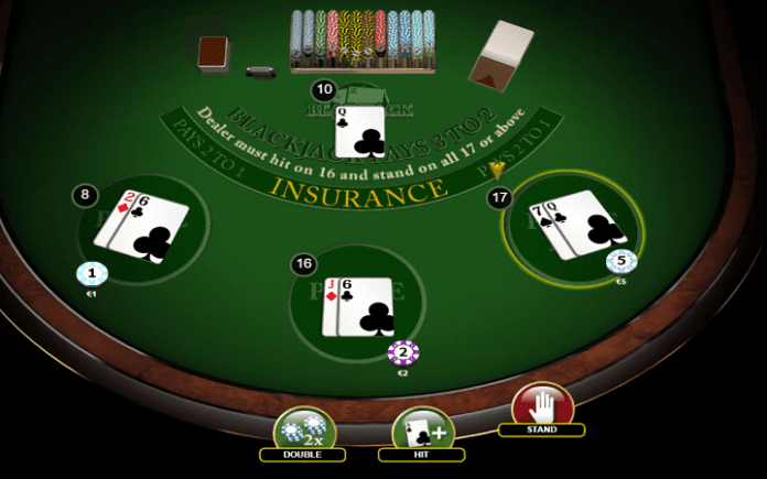 Blackjack 3 Hand, Habanero, Online Casino Bonus