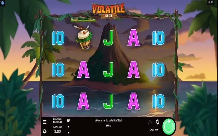 Volatile Slot, Online casino bonus
