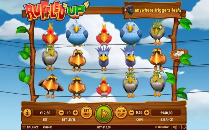 Ruffled Up, Online Casino Bonus