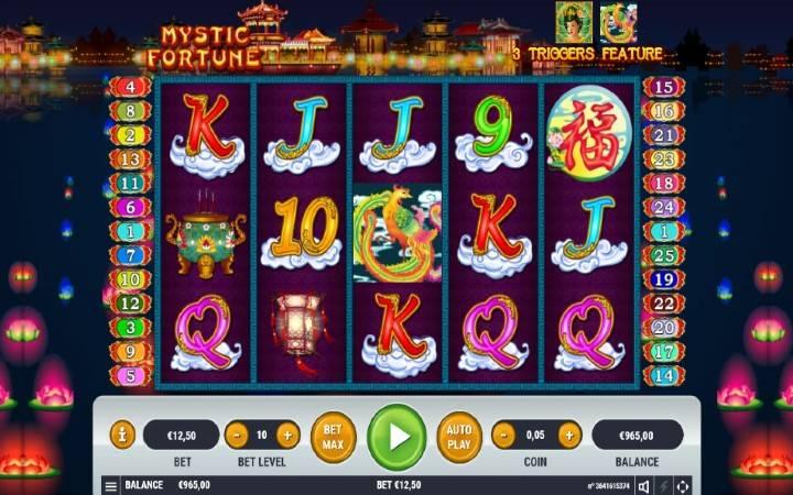 Mystic Fortune, Online Casino Bonus
