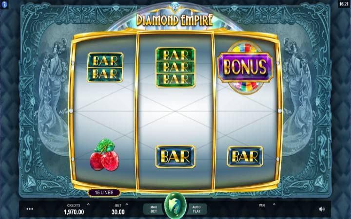 Diamond Empire, Online Casino Bonus