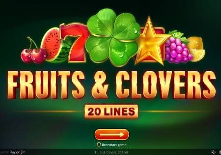 Fruits and Clovers: 20 lines – pokrenite voćnu avanturu