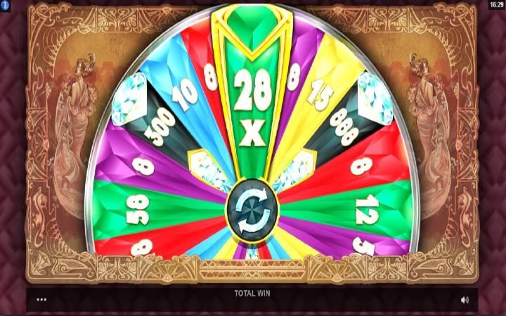 Točak sreće, Diamond Empire, online casino bonus