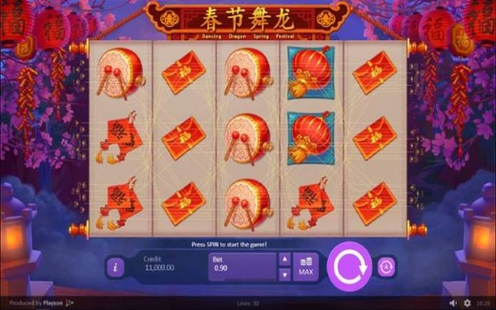 Dancing Dragon Spring Festival, Online Casino Bonus