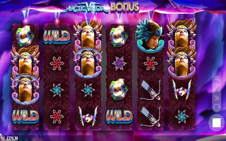 Arctic Valor, Online Casino Bonus