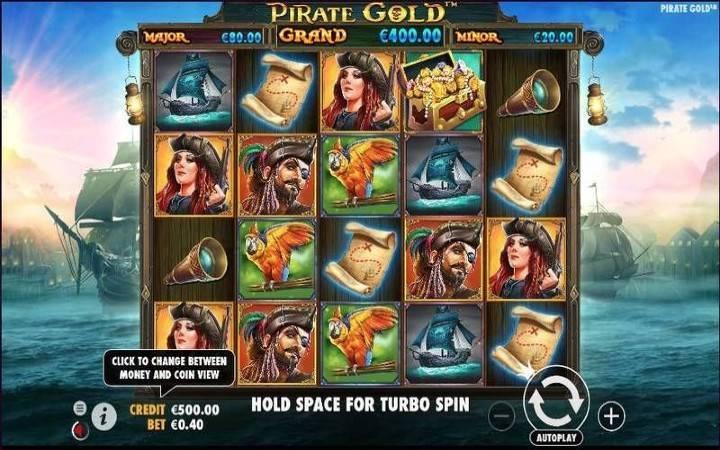 Bonus Casino, Pirate Gold