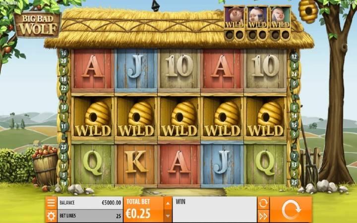 Big Bad Wolf, Bonus Casino