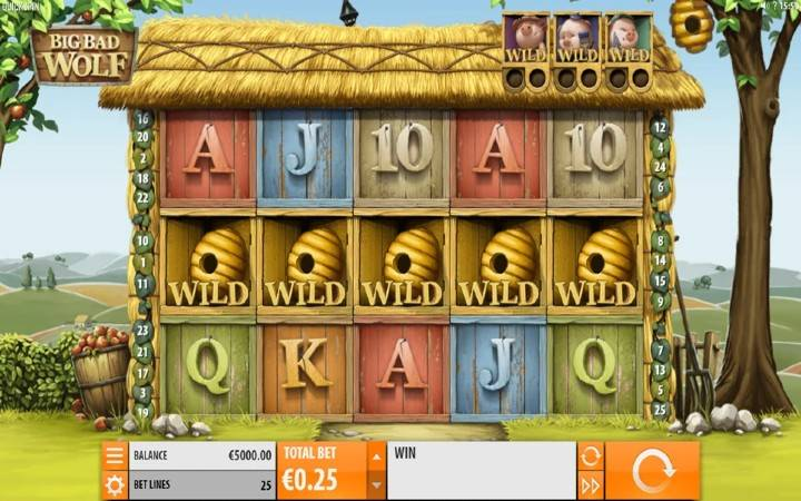 Big Bad Wolf, Online Casino BOnus