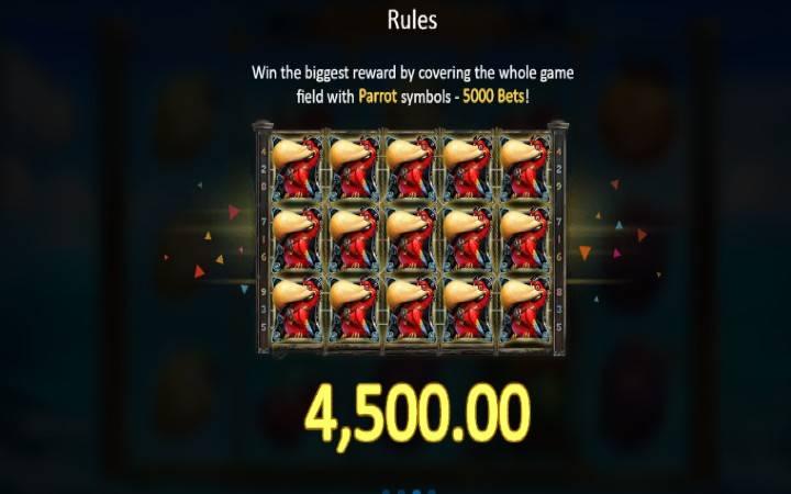 Lucky Pirates, Bonus Casino