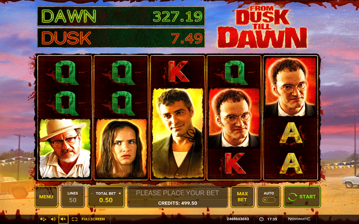 From Dusk Till Dawn, Greentube, Novomatic, Bonus Casino