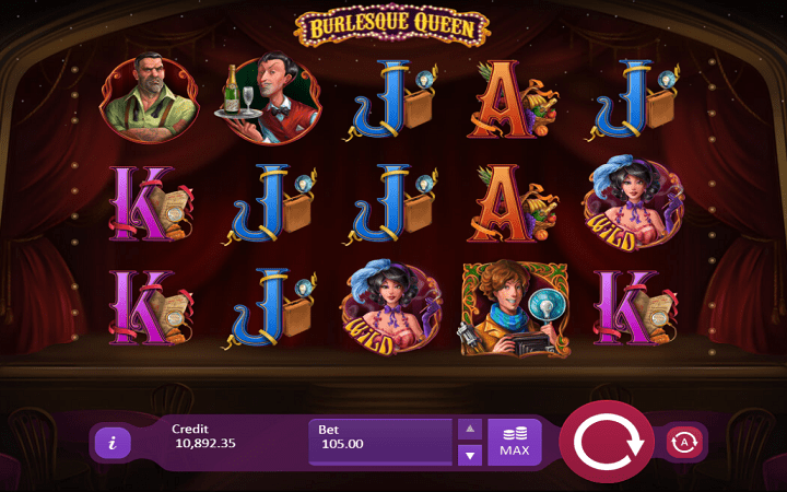 Burlesque Queen, Playson, Bonus Casino