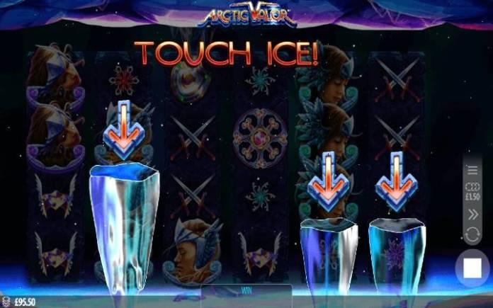Arctic Valor, funkcija ledenica, Bonus Casino