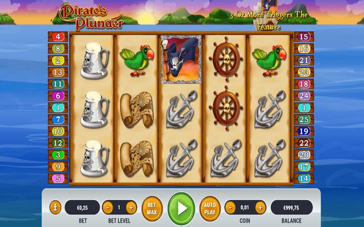 Pirates Plunder, Habanero, Online Casino Bonus